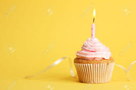 Birthday Cupcakes With Candles Hd Wallpaper Background Images