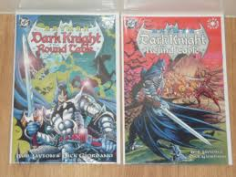 batman dark knight of the round table 1 to 2 dc 1998 nm to nm complete set prestige format
