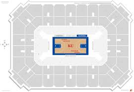 Detailed Allen Fieldhouse General Admission Seating Chart 2019