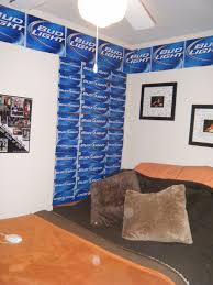 Bud Light Living Room My Bud Light Curtain And Boarder I Made All You Need Is The