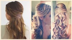 Einfache Flechtfrisuren Offene Haare Frisuren Frauen 2018