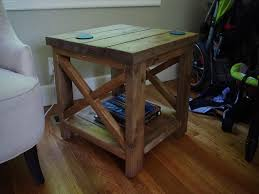 how to build rustic furniture. DIY Rustic End Table How To Build Furniture R