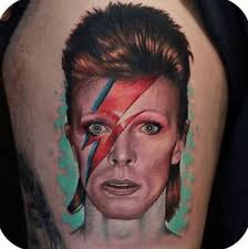 David Bowie Tattoos Tributes To A Music Icon Inked Magazine