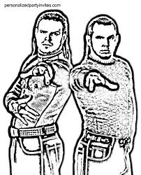 Wwe Coloring Pages Dr Odd Wwe Hardyz In 2019 Wwe Coloring