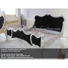French Classic Modern Destina bed Indonesia furniture Jepara French Destina  Bed Jepara Classic Furniture SBB 7911