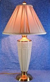 lenox table lamp brass