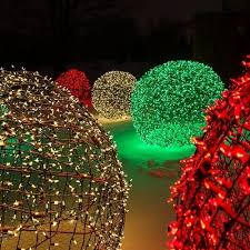 unique christmas lighting. Creating Led Light Balls - Unique Outdoor Decorations Pertaining To Christmas Lights For Outdoors 16968 Lighting O