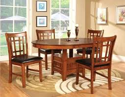 round dining room tables for 4 round dining table 4 chairs with inch leaf 48 inch