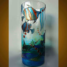 glass painting design ideas
