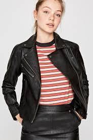 mafi biker jacket pepe jeans london