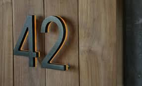 house numbers design number ideas diy modern