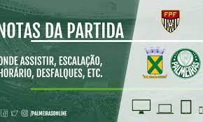 Santo André x Palmeiras: escalações, desfalques, onde assistir ao vivo e  muito mais!