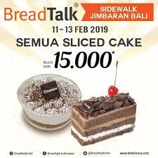 Breadtalk Opening Promo Di 3 Outlet Pilihan Semua Roti Hanya 7500