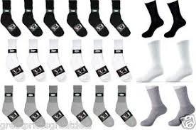 Details About Wholesale Dozens Lot Knocker Sport Cotton Crew Socks White Black Grey 9 11 10 13