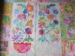 Kim McLean Flower Pots | 2 applique panels, almost finished | Flickr & ... Kim McLean Flower Pots | by Cabbage Quilts Adamdwight.com