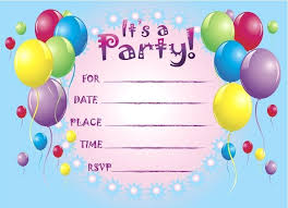 Online Printable Birthday Party Invitations Carnival Birthday Invitation Party Invitations Free