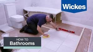 Wickes Kitchen Floor Tiles How To Tile A Bathroom Floor With Wickes Youtube