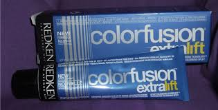Redken Double Fusion Color Chart Buy Redken Color Fusion Extra Lift Haircolor Cream El V