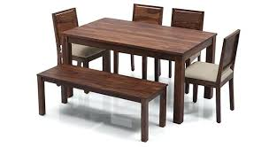 6 seat dining table remarkable 6 dining table set with bench urban ladder in seat adelaide 6 seat dining table