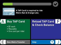 Tap Vending Machines Locations Simple Public Testing Begins At Union Station On New Screen Prompts For