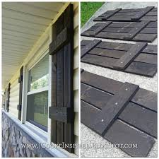 Make Your Own Shutters Best Wood To Make Outdoor Shutters How To Build Shutters Diy