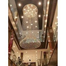 ceiling mount glass fancy crystal chandelier usage decoration purpose