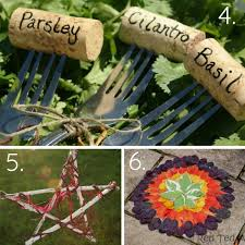 simply stunning cork garden markers these cork garden markers aren t just pretty they would make the perfect garden craft for kids