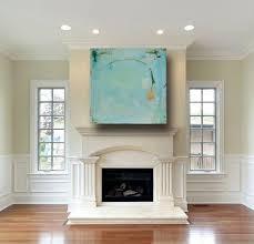 custom blue beach house art california style for chic interior