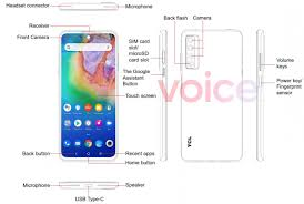 First TCL 20 5G specs and images leak ...
