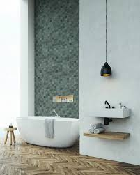 these grey mosaic wall panels have a