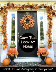 Fall Porch Decorating Diy Fall Front Porch Where To Find All The Decor Items To Copy