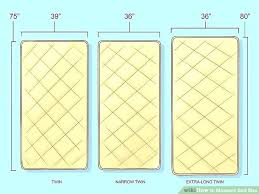 Twin Mattress Size How To Measure Bed Size Steps With Pictures