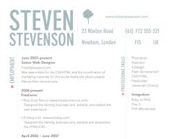 Creating A Free Resume How To Create A Great Web Designer R Sum And Cv Smashing Magazine
