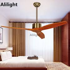 description modern nordic wooden blades ceiling fans with remote control attic