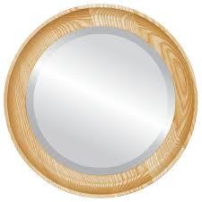 honey oak rustic wall mirrors