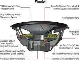 alpine spx 17ref type x ref series 6 3 4 component speaker system spx ref woofer