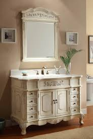 Guide to Antique White Vanities Interior Decorating Colors