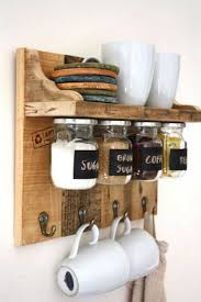 Shelves Made From Pallets Best 25 Pallet Spice Rack Ideas On Pinterest Kitchen Spice Rack