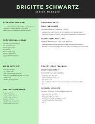 Modern Scientist Resume 2020 Black And Mint Modern Resume Templates By Canva
