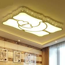 rectangular ceiling light simple modern living room lights rectangular ceiling light led master bedroom lights warm and romantic ceiling rectangular pendant
