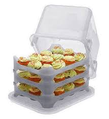 36 Cupcake Carrier New Cupcake Courier Cupcake Caddy Holds 60 White My Wish List