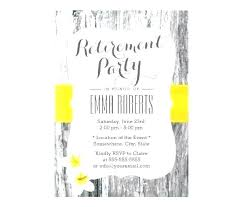 Birthday Invitation Flyer Template Inspiration Free Retirement Flyers Templates Party Invitation Athoise