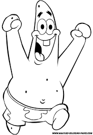 Patrick Coloring Pages 18 20532