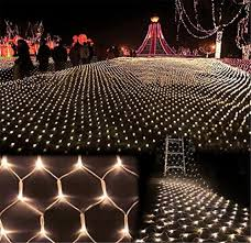 Fishing String Lights Kmashi 8mx10m 1920 Led Large Net Light String Lights Mesh