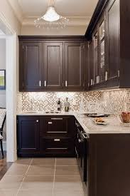Dark Wood Cabinet Kitchens Color Schemes For Kitchens With Black Cabinets Outofhome