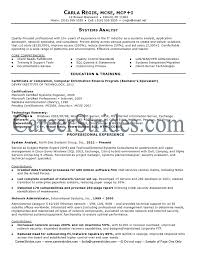 Business Systems Analyst Resume Template Impressive Business Systems Analyst Resume Template Learnhowtoloseweightnet