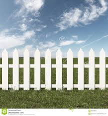 White fence Front Porch Green Field And White Fence Dreamstimecom Green Field And White Fence Stock Illustration Illustration Of