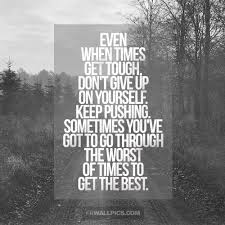 Quotes About Struggling With Yourself Best of Dont Give Up On Yourself Struggle Advice Quote Facebook Wall Pic