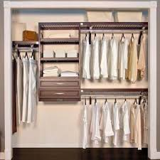 Wood closet shelving Closet Systems John Louis Home Woodcrest 16inch Espresso Closet System Cope Closet Concepts Buy Wood Closet Organizers Systems Online At Overstockcom Our