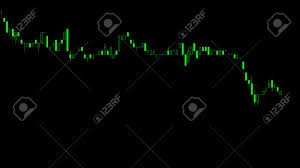 Candlestick Stock Chart Display Of Stock Market Quotes Business Graph Candlestick Chart